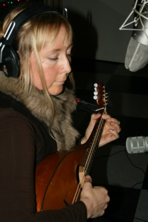 "Eva during the recording sessions for ""To Hold a Candle to the Devil""."