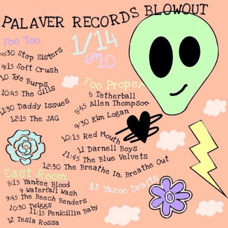 Palaver Records Blowout